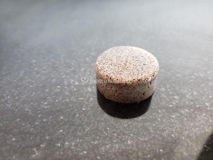 Novia: bombón relleno Té Chai
