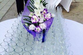 Vasos y adornos florales