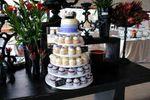 Torre de cupcakes y mini cake