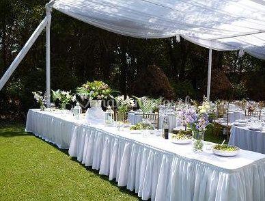 Para bodas decoración con flores