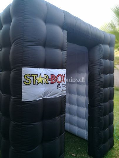 Foto-cabina Inflable Led