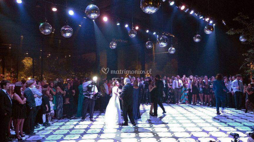 Matrimonio de 750 personas