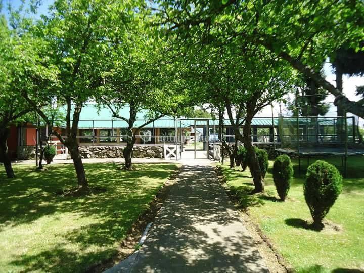 Jardín de manzanos 2