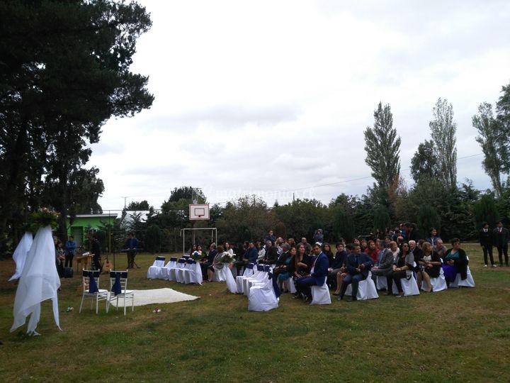 Ceremonia aire libre