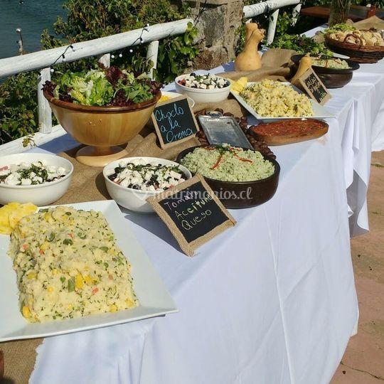 Servicio Buffet Salado