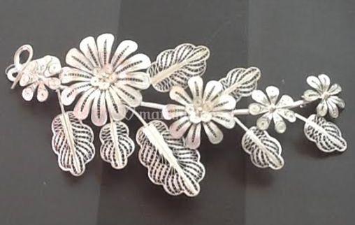 Tiara de plata- disponible