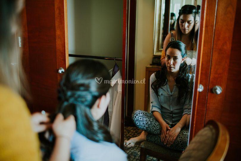 Preparación novia