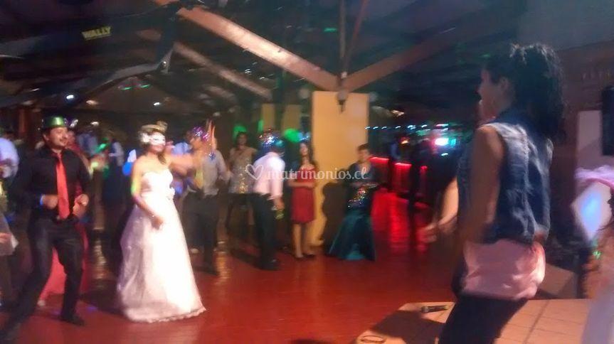 Zumba show en matrimonio