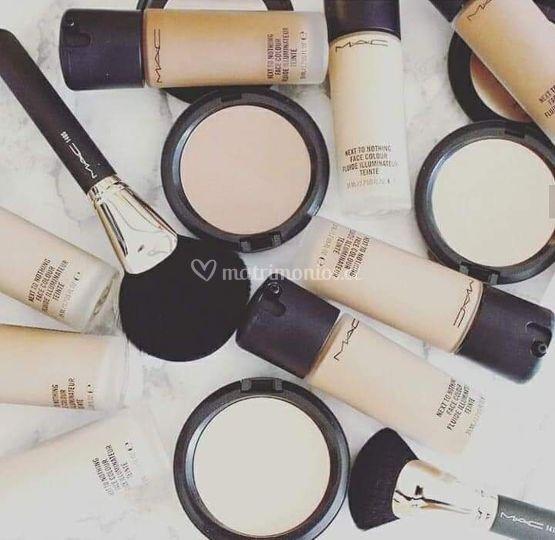 Maquillaje que utiliza