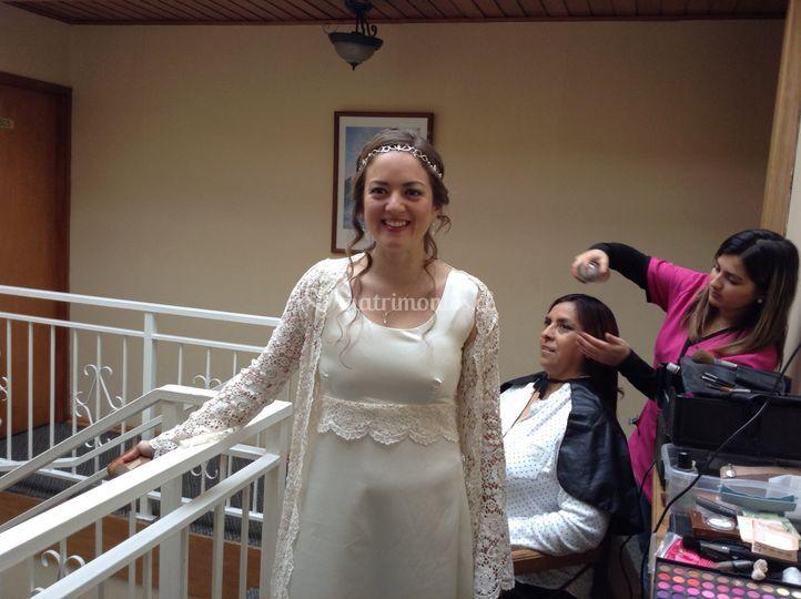Servicio a novia y familia
