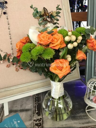 Ramo rosas y tulipanes