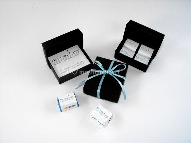Caja Chocolate impreso