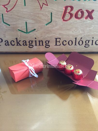 Caja souvenirs chocolates