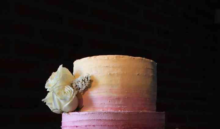 Torta degradé en buttercream