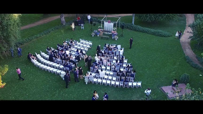 Drone Ceremonia