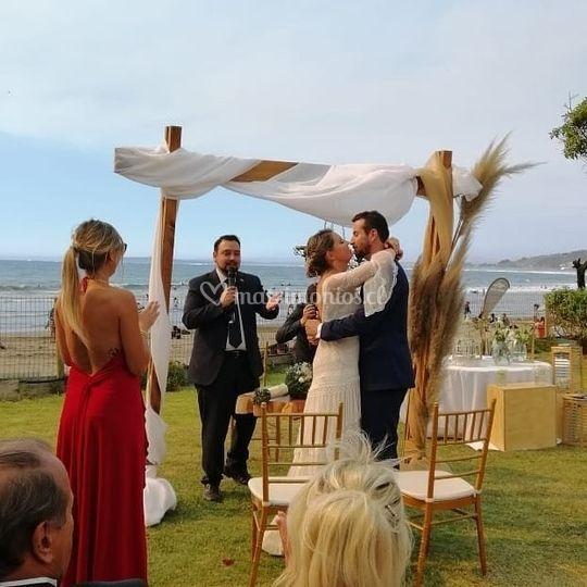 Matrimonio en el mar