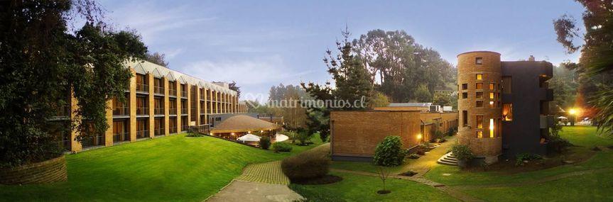 Foto panoramica hotel