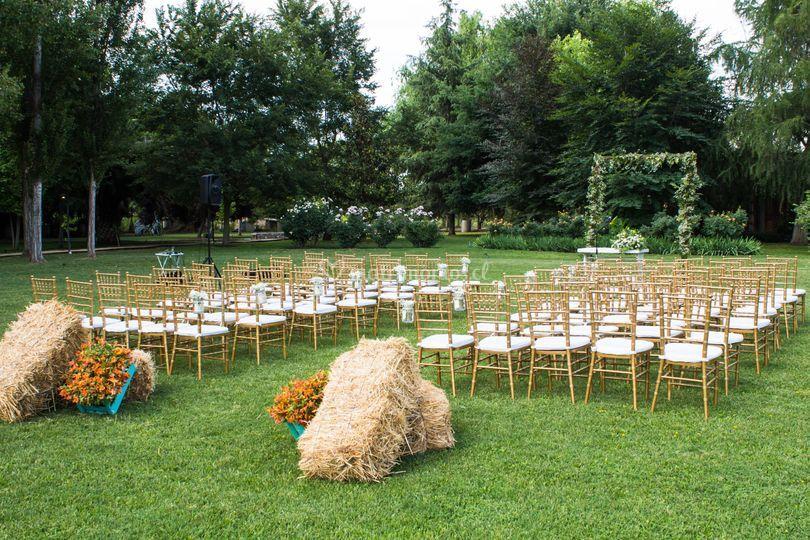 Ceremonias a campo abierto