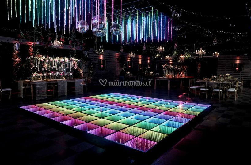 Pista infinity y luces madrix