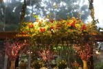 Escalera de flores