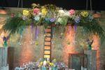 Escaleras de flores