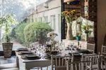Mesas provenzales blancas