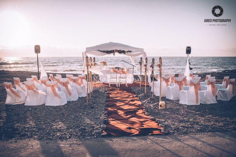 Matrimonio en Playa