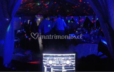 DJ e iluminación