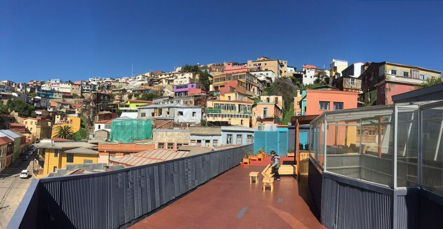 Espacio unico en Valparaíso