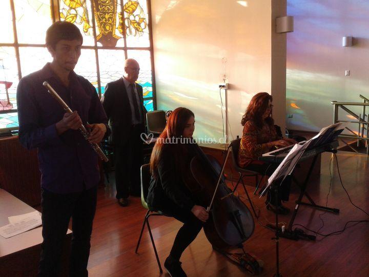Conjunto Musical en las Salina de Producciones Artemusas
