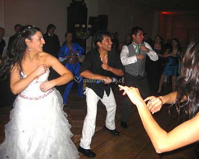 Baile entretenido para novios