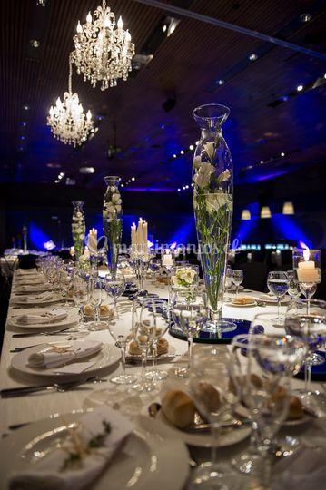 Iluminación de mesa