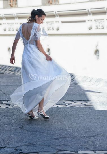 Vestido de novia a la venta.