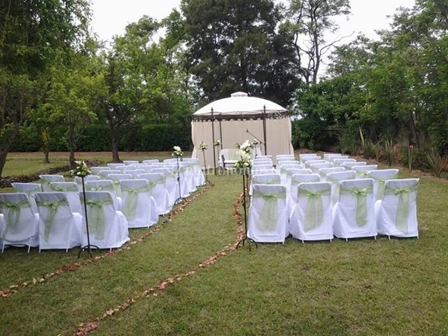Matrimonio civil en el campo