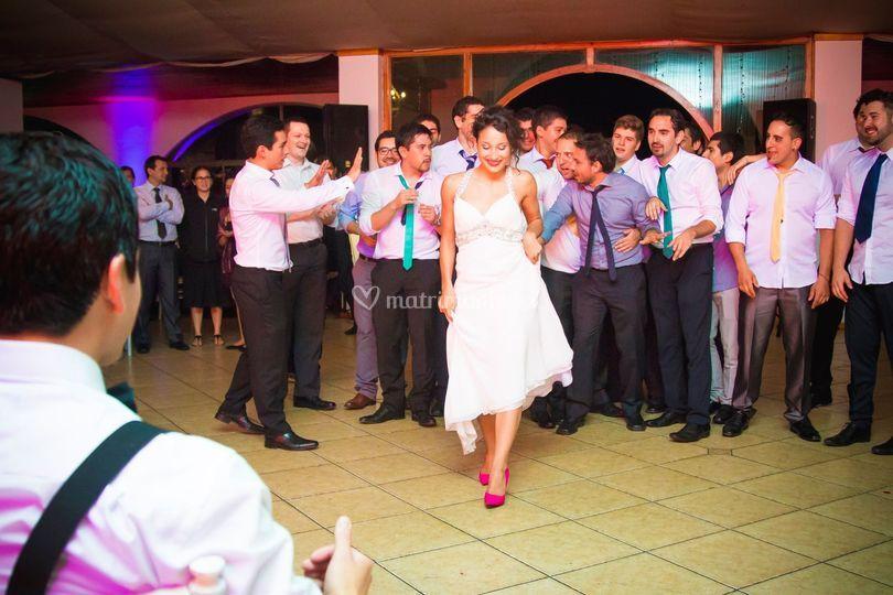 Flashmob novia