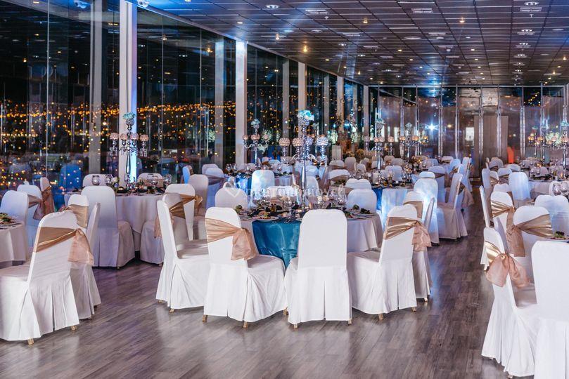 Salón licancabur terrado