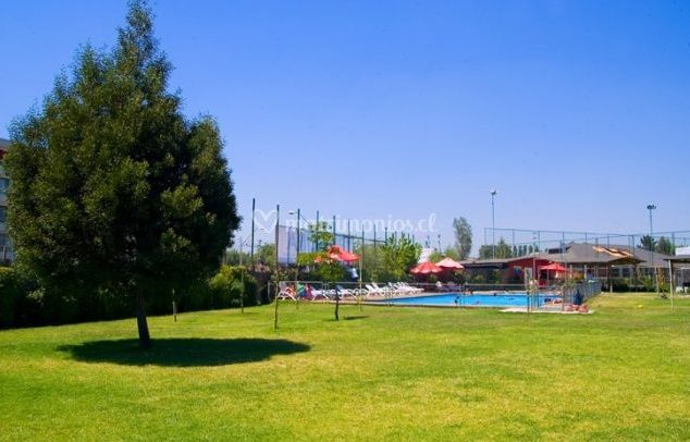 Zona de piscinas