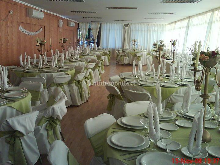 Matrimonio en salón