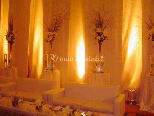 Iluminación decorativa en amba