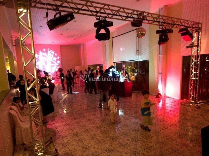 Iluminación para centros de eventos