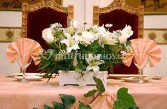 Mesa de recién casados