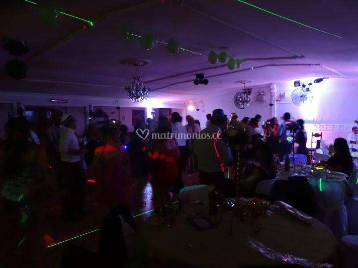 Baile en la fiesta