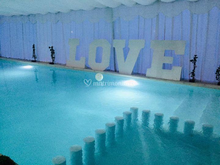 Letras decorativas love
