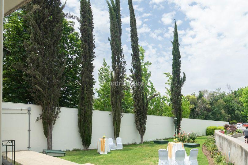 Salones VIP terraza