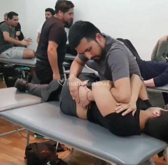 Manipulación vertebral