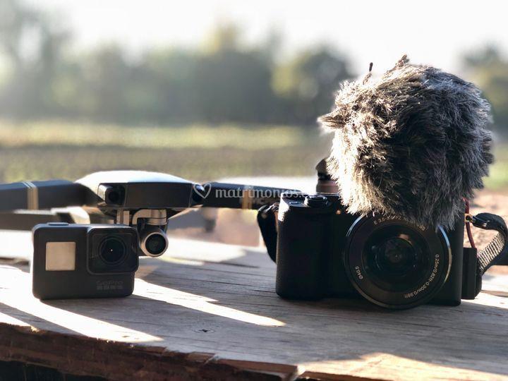 Audio y cámara