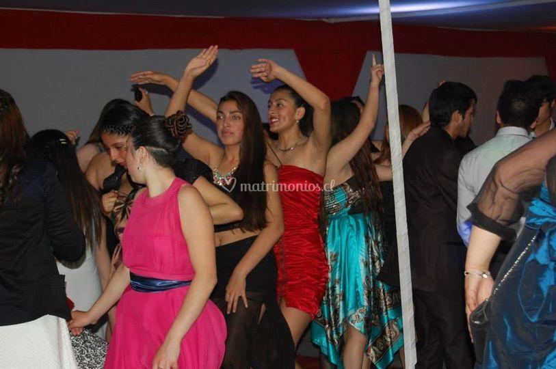 Pista de baile animada