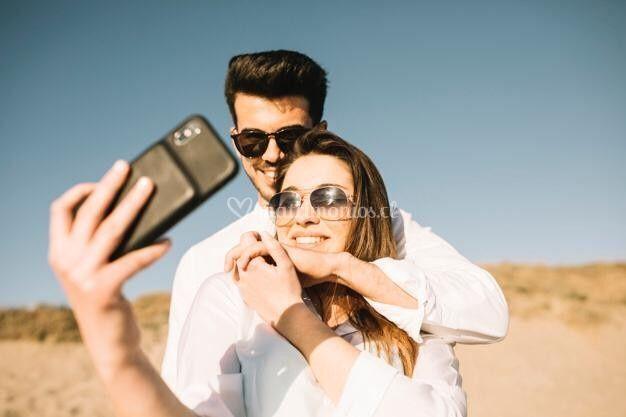 Selfie para los invitados