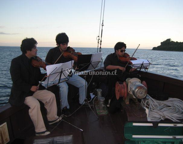 Música a bordo
