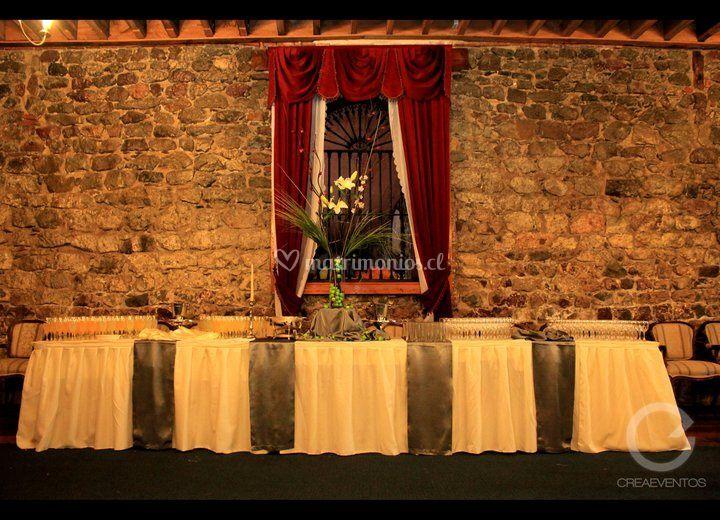 Banquetes para matrimonio